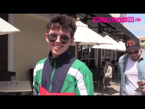 Xxx Mp4 Jacob Sartorius Talks Millie Bobby Brown RiceGum New Music While Leaving Lunch With The Squad 3gp Sex