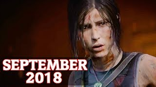 TOP 18 NEW Upcoming Games of SEPTEMBER 2018 (PC, PS4, Xbox One, Switch)