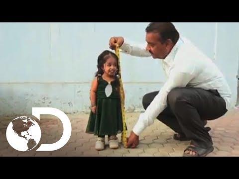 A menor mulher do mundo Meu Corpo Meu Desafio l Discovery Brasil
