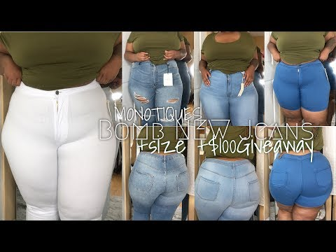 Xxx Mp4 NEW FAV JEANS 100 Giveaway MONOTIQUES Plus Size Jean Try On 3X 3gp Sex