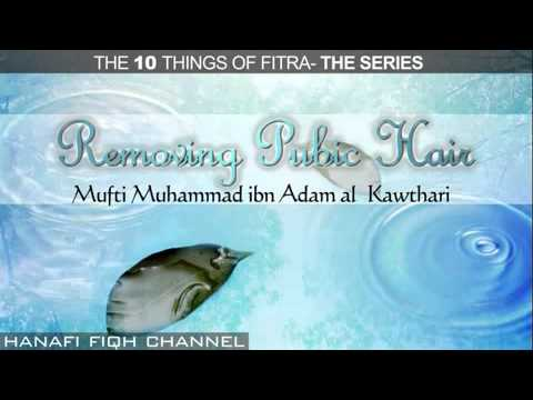 Removing Pubic Hair- Fitra Episode 7