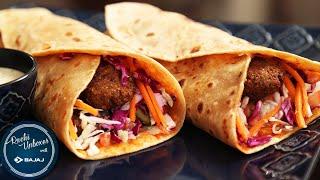Lebanese Falafel Wrap | Easy To Make Wrap Recipe | Ruchi Unboxes With Bajaj Electricals