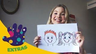 Hi-5 Extras: Drawing Cartoon People