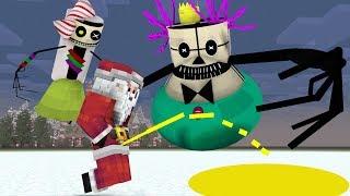 Monster School: Creepy Christmas Part 1/2 - Minecraft Animation