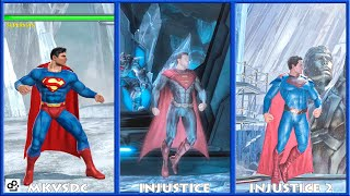 DC Universe MKVSDC Injustice SUPERMAN Graphic Evolution 2008-2017 | XBOX360 PS4 |