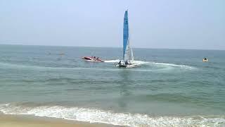 Water Sports for Children at Cherai Water Sports,Cherai Beach,Kochi,By TP Rajeev