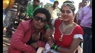 Bhojpuri Film Lal Dupatte Wali- Song Shoot - IANS India Videos