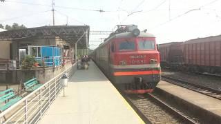 Поезд 201, Батуми — Ереван с электровозом 10-690