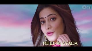 Jeene Laga Hoon Bollywood Sing Along Ramaiya Vastavaiya Girish Kumar, Shruti Haasan (1080p)