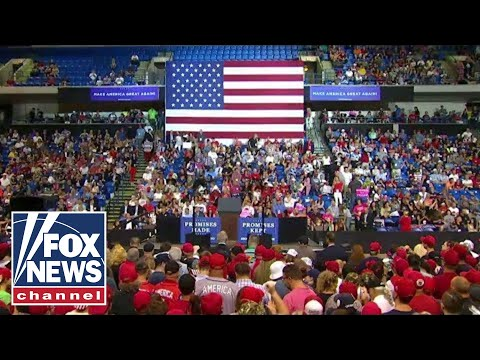Xxx Mp4 Watch Live Trump Holds MAGA Rally In Topeka Kansas 3gp Sex