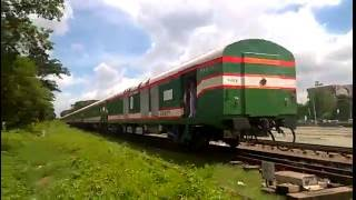 Bangladesh Train || Silk City || Modern Train