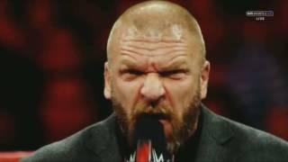 WWE Triple H VS Seth Rollins Promo 2017
