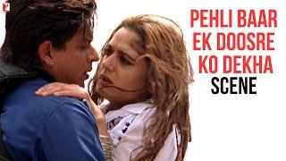 Scene: Veer-Zaara | Hum Dono Ne Pehli Baar Ek Doosre Ko Dekha | Shah Rukh Khan | Preity Zinta