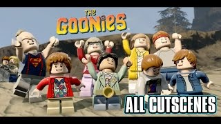 LEGO The Goonies Full Movie - All LEGO Dimensions The Goonies Level Pack Cutscenes