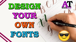 HOW TO MAKE YOUR OWN HANDWRITING FONTS
