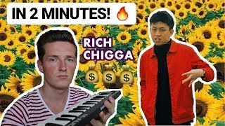 """How Rich Chigga`s """"GLOW LIKE DAT"""" was made in 2 minutes"""