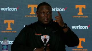 Tennessee Football | Larry Scott Named Offensive Coordinator Press Conference (1.20.17)
