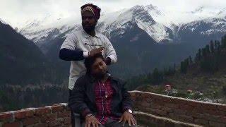 Powerful Cosmic Head Massage @ Pink Floyd Cafe,Tosh by Semi Baba | Trip Towards Heaven Part 3| ASMR