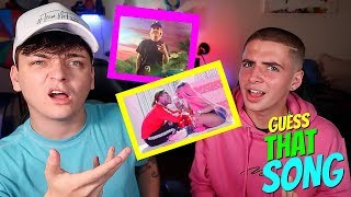 GUESS THAT SONG CHALLENGE! Ft. Zach Clayton *2018*