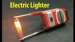 How to Make an Electric Hot Wire Lighter || CREATIVE MIND