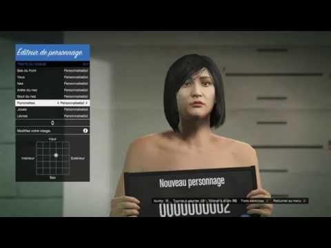 GTA Online Character Creation How to create an asian girl 2