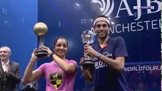 محمد الشوربجي يتوج بطولة العالم للاسكواش فيما ذهب لقب السيدات لرنيم الوليلي 18-12-2017
