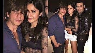 Katrina Kaif And Shahrukh Khan Cozy Picture At Farah Khan Party For Ed Sheeran