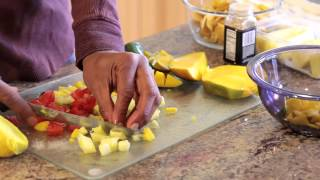 Pineapple Mango Chipotle Salsa Recipe : Preparing Healthy Foods