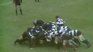 All Blacks vs The Barbarians - Cardiff Arms Park 1973