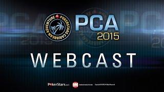 Torneo di poker live PCA 2015 –  Main Event PCA, tavolo finale (Italiano)