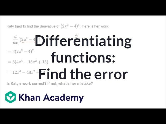 Correcting work on derivative strategies