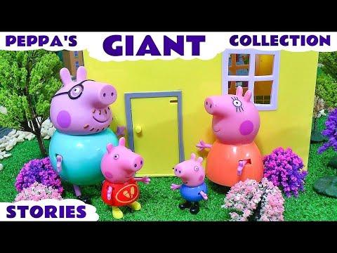 Peppa Pig English Episodes Compilation Pepa Play Doh Toys & Surprise Eggs Juguetes de Pepa  TT4U
