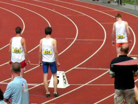 NK junioren A/B 2009 Finale 800m