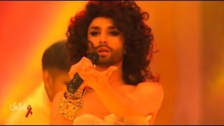 Conchita Wurst | Кончита Вурст - You Are Unstoppable, Life Ball 16.05.2015
