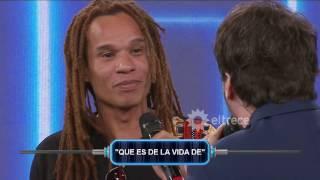 Emanuel le habló en el idioma de su tribu y Guido se volvió loco