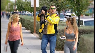 REDNECK PICKING UP GIRLS WITH A PUPPY!!