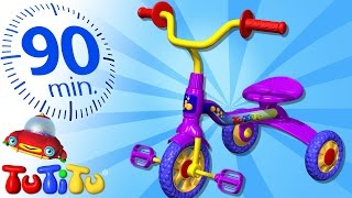 TuTiTu Specials | Tricycle | And Other Popular Toys for Children | 90 Minutes!