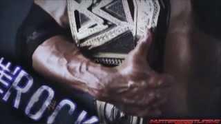WWE : The Rock Custom Titantron 2013 -
