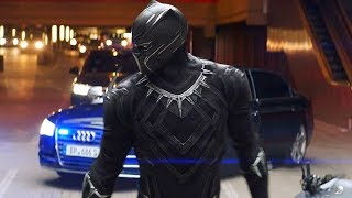 Black Panther Chase Scene - Captain America: Civil War (2016) Movie CLIP HD