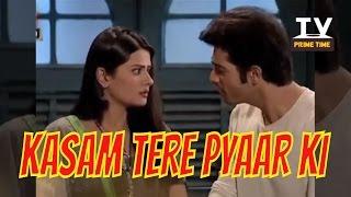 Rishi hua Tanuja ke Naye Pyaar se Jealous | Kasam Tere Pyaar ki | टीवी प्राइम टाइम हिन्दी