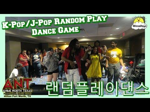 K-POP/J-POP RANDOM PLAY DANCE GAME | ANIME NORTH TEXAS 2016