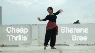 Sia-Cheap Thrills [INDIAN Classical Dance] by SHARANA SREE