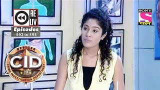 Weekly Reliv - CID - 6th Jan  to 12th Jan 2018 - Episode 592 to 595