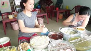 Street Food Saigon Vietnam 2017 - Vietnamese Sweet