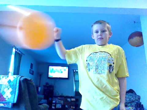 Punching balloon contest!