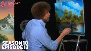 Bob Ross - Lakeside Cabin (Season 10 Episode 13)