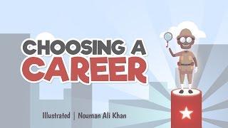 Choosing a career | Nouman Ali Khan | illustrated | Subtitled
