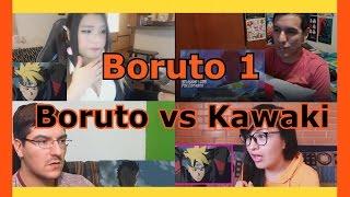 Reacciones: Boruto vs Kawaki | Boruto Capitulo 1 | Recopilación de videoreacciones