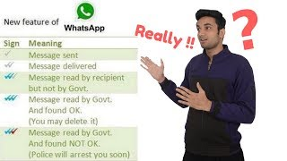Three Bluetick on Whatsapp Read By Govt  Really Whatsapp New Feature