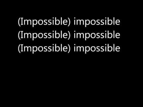 watch James Arthur - Impossible (Lyrics)